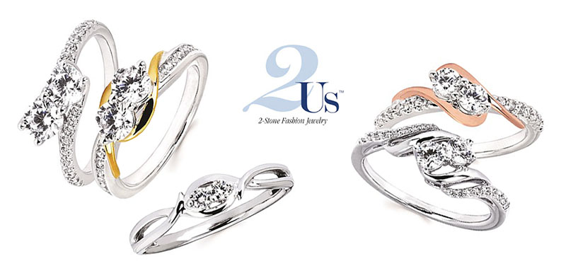 View the 2 Us Bridal Collection on the Ostbye Website