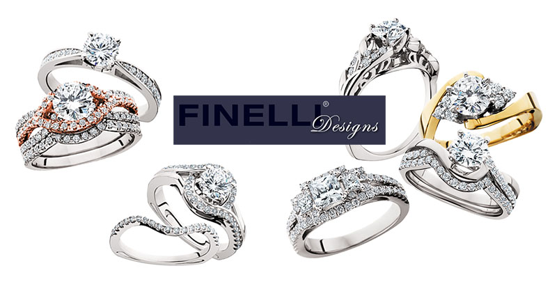 View the Finelli Bridal Collection on the Finelli Designs Website