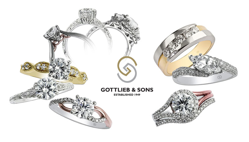 View the Gottlieb & Sons Bridal Collection on the Gottlieb & Sons Website