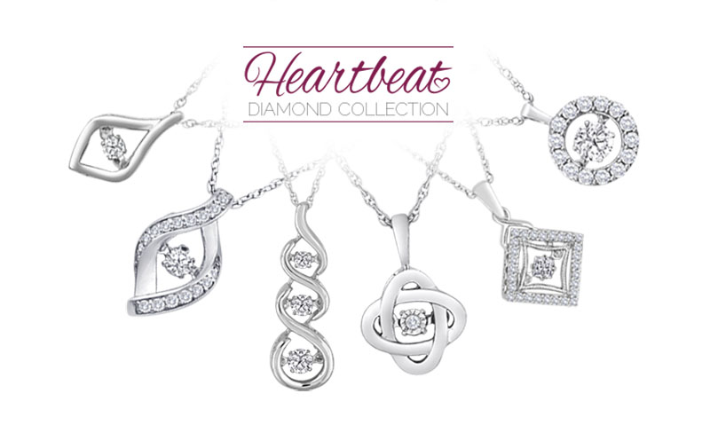 View the Heartbeat Diamond Collection Website