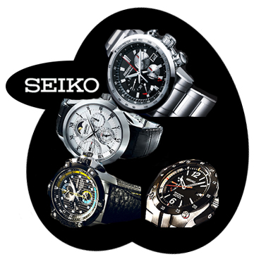 View the Seiko Watches Website